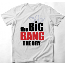 Big Bang Theory - Agymenők póló