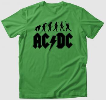 ACDC evolúció póló