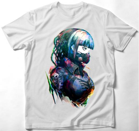 Anime Cyberpunk art póló