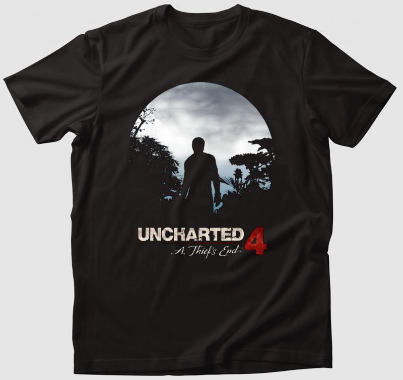 Uncharted 4 Póló