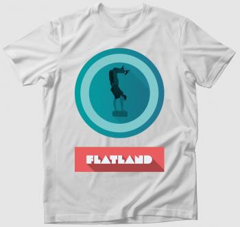 Flatland - Deszkás póló
