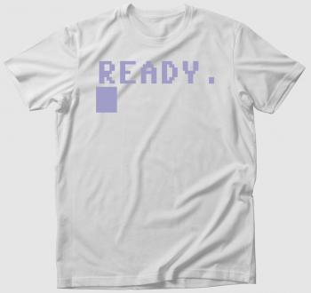 Commodore 64 póló - Ready (C64)
