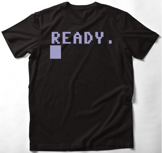 Commodore 64 póló - Ready (C64...
