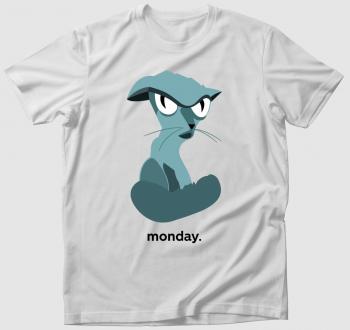 Morcos macska - hétfőkre póló