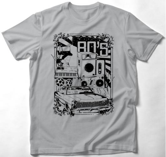 Klasszikus 80-as évek póló