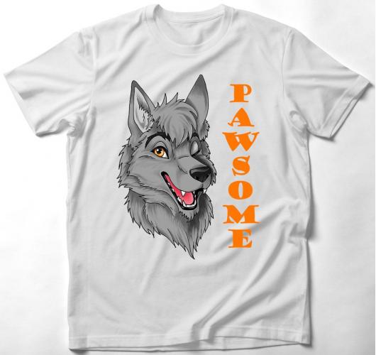 Pawsome furry bögre