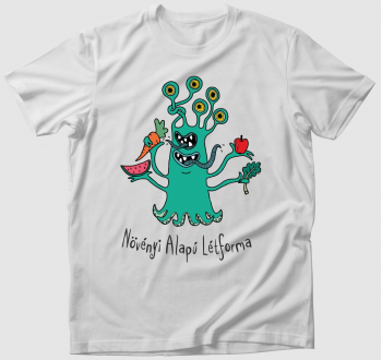 Növényi Alapú Létforma póló