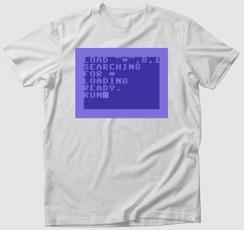 Commodore 64 (C64) póló - Floppy betöltés