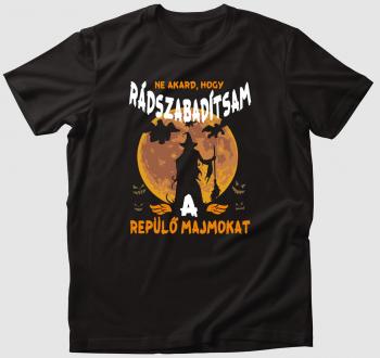 Ózos repülő majmos póló