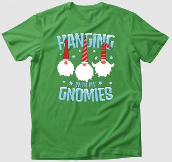 Gnómos karácsonyi póló