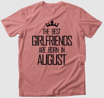 Csajos szülinapos póló egyedi hónappal