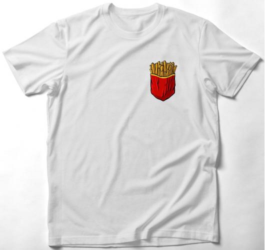 Sült krumpli zsebmintás póló...