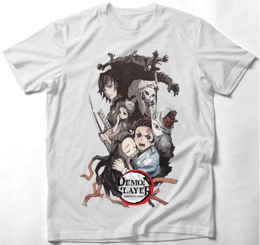 Demon Slayer Anime póló