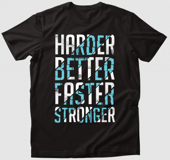 Daft Punk - Harder, better, faster, stronger póló