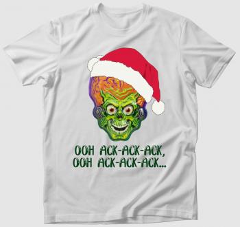 Támad a Mars póló - karácsonyi kiadás