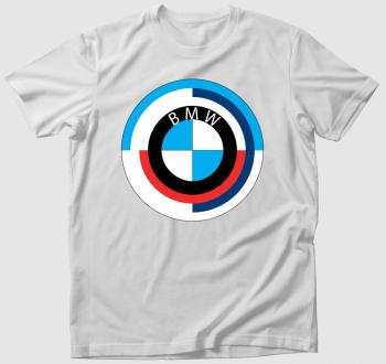 BMW logós póló