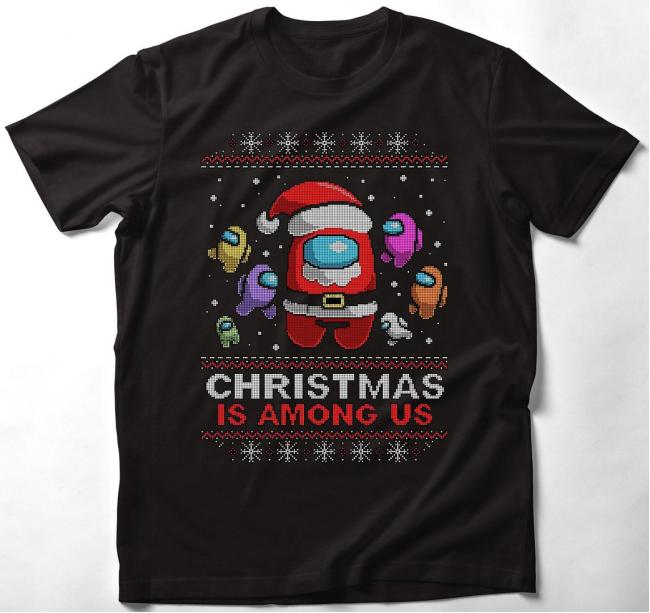 Among Us karácsonyi póló