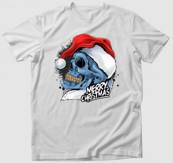 Koponyás karácsonyi póló újragondolva