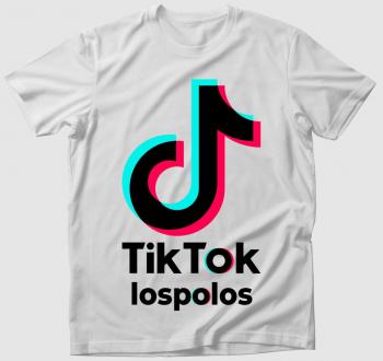 Egyedi neves TikTok póló