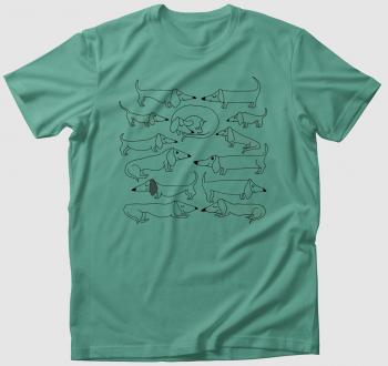 Tacskóból soha nem elég monokróm póló