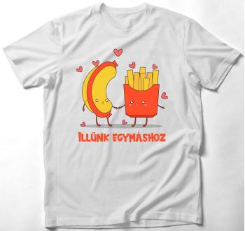Illünk egymáshoz póló