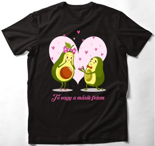 Te vagy a másik felem póló