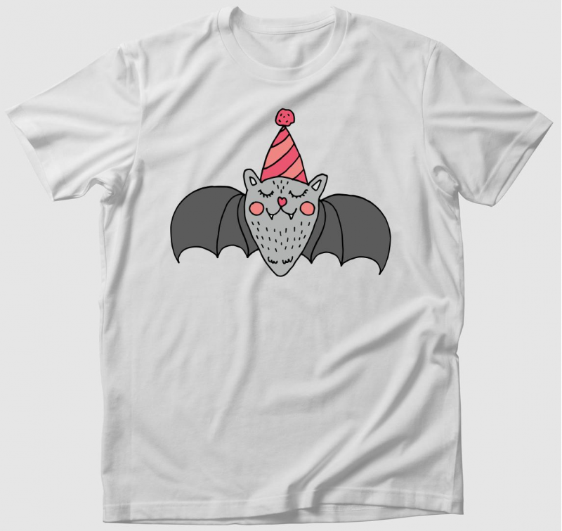 Party denevér póló