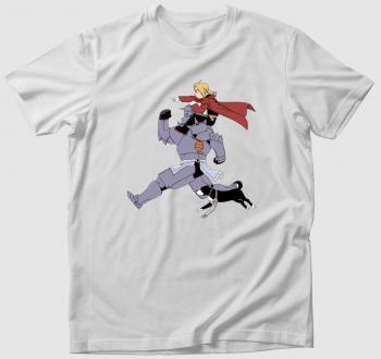 Fullmetal Alchemist előre! póló