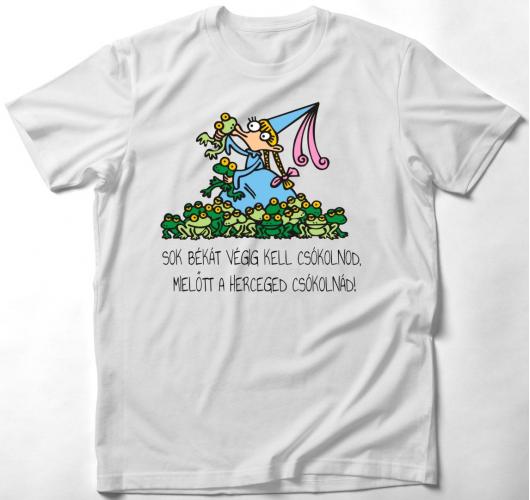 Vicces királylányos póló