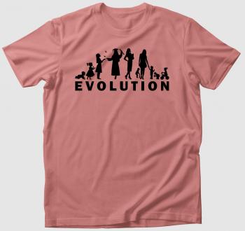 Evolúciós póló-női verzió