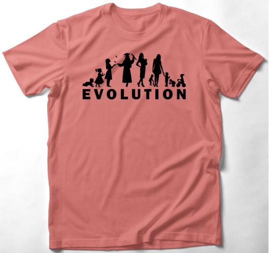 Evolúciós póló-női verzió...