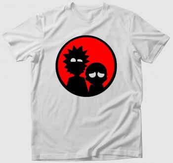 Rick és Morty sziluett póló