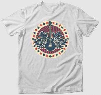 Szárnyas gitár póló