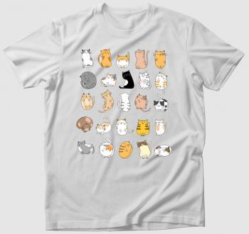 Sok-sok cuki cica póló