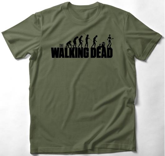 Walking dead evolúció póló