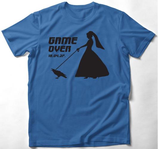 Game Over 2 póló (női/férfi vá...