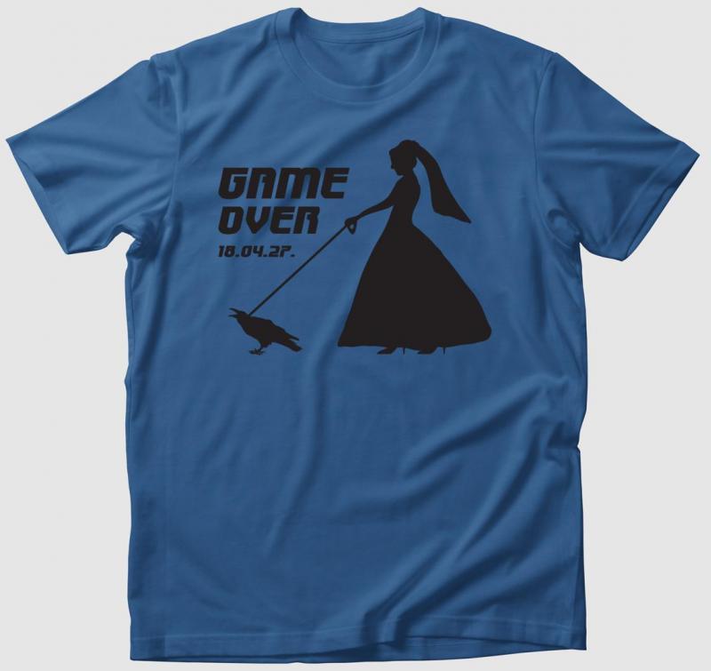 Game Over 2 póló (női/férfi változatban!)