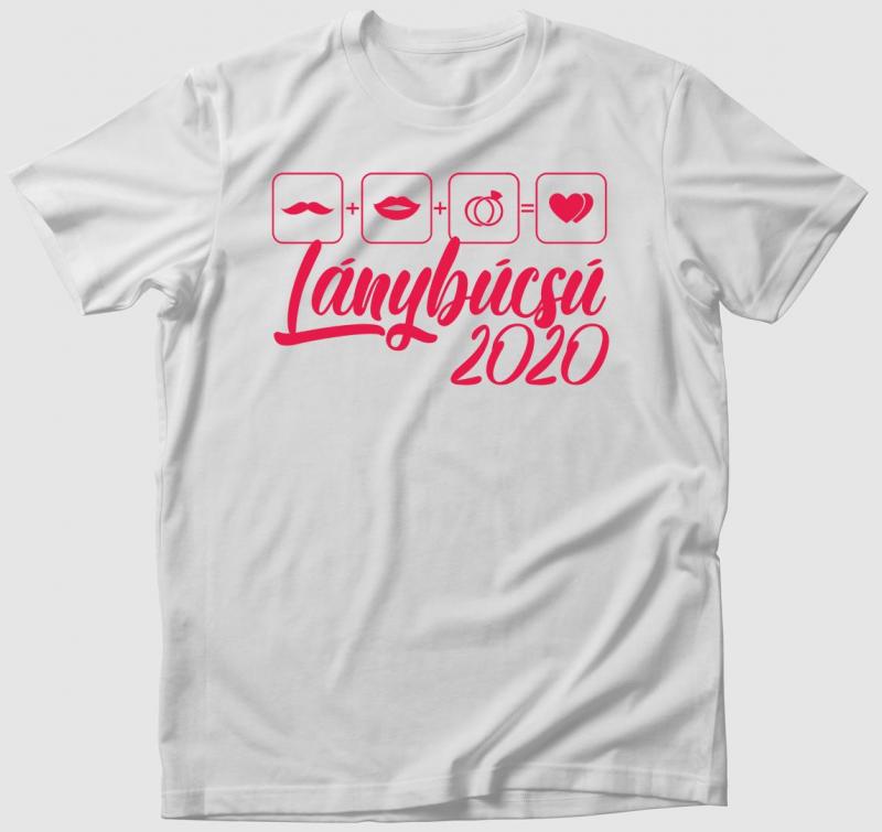 Lánybúcsú 2020 póló (egyedi évszámmal)