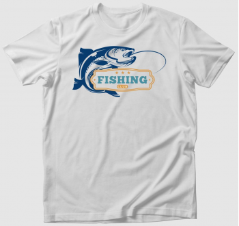 Horgász klub póló - egyedi névvel is kérhető!