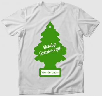 Wunderbaum karácsonyfa póló
