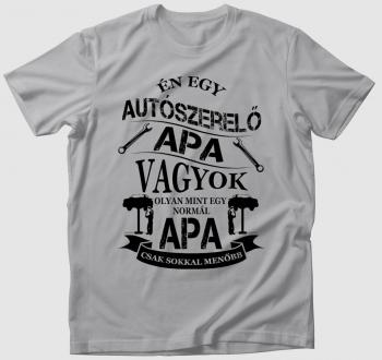 Autószerelő apa póló