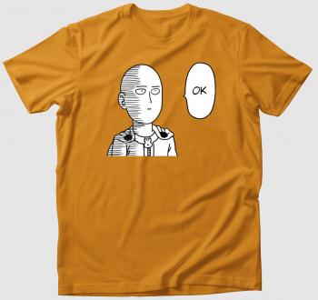 One Punch Man Saitama OK póló