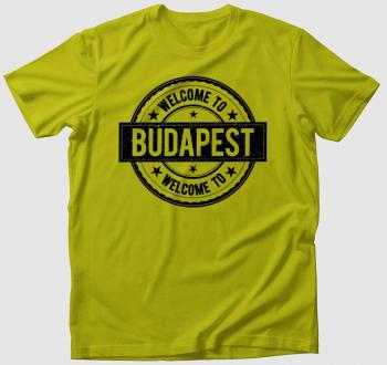 Welcome To Budapest póló