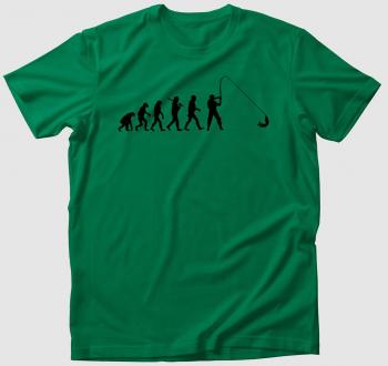 Horgászat evolúció póló