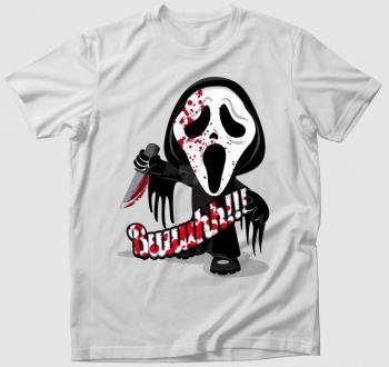 Sikoly - Scream halloween póló