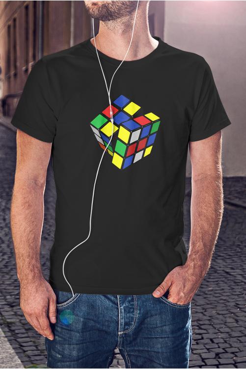 Rubik kockás póló