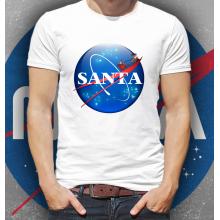 NASA Mikulás póló