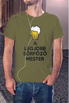 A legjobb sörfőző póló
