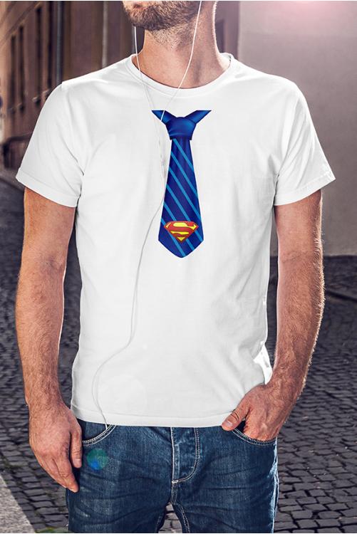 Superman nyakkendő póló