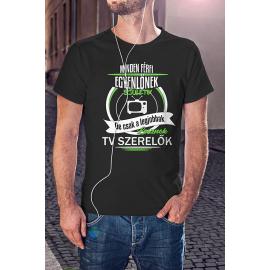 TV szerelő póló